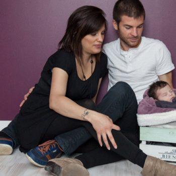 Photographe bébé Nantes domicile