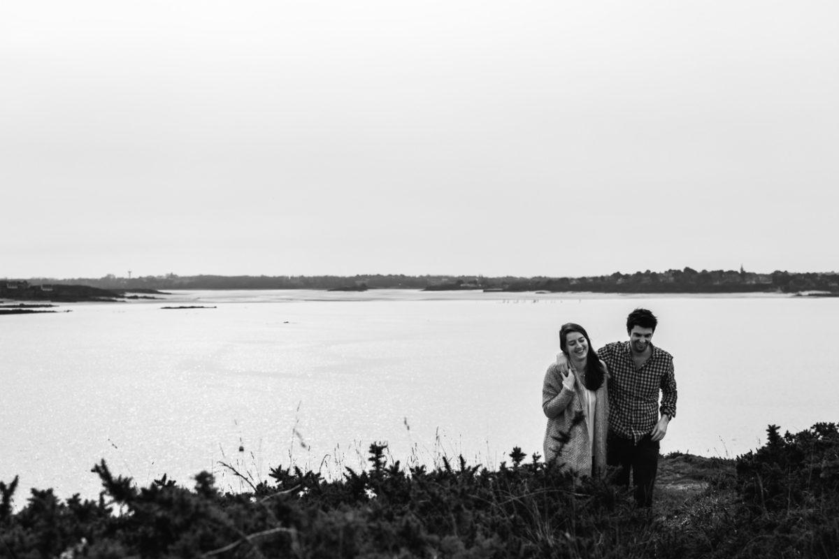 Séance couple Saint Briac sur mer