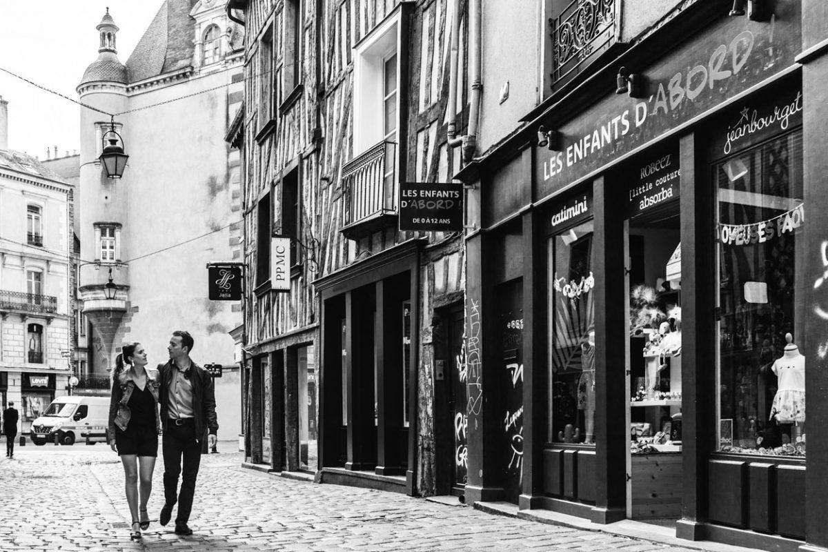 Séance couple à Rennes