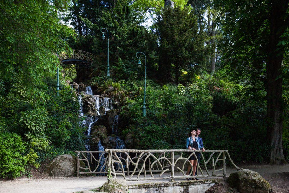 séance couple Parc du Thabor à Rennes
