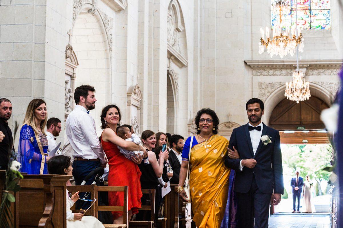 Entrée du marié abbaye St Florent le Vieil