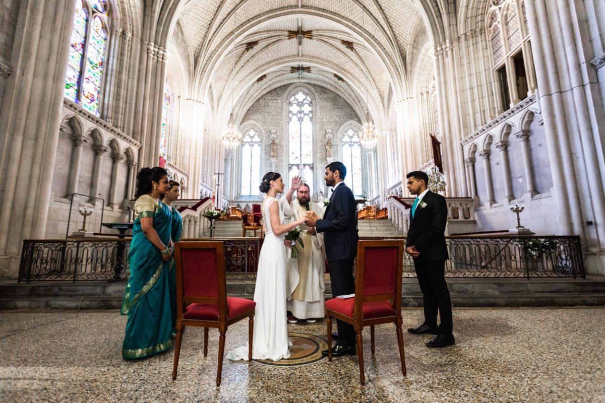 Echange des consentements abbaye St Florent le Vieil