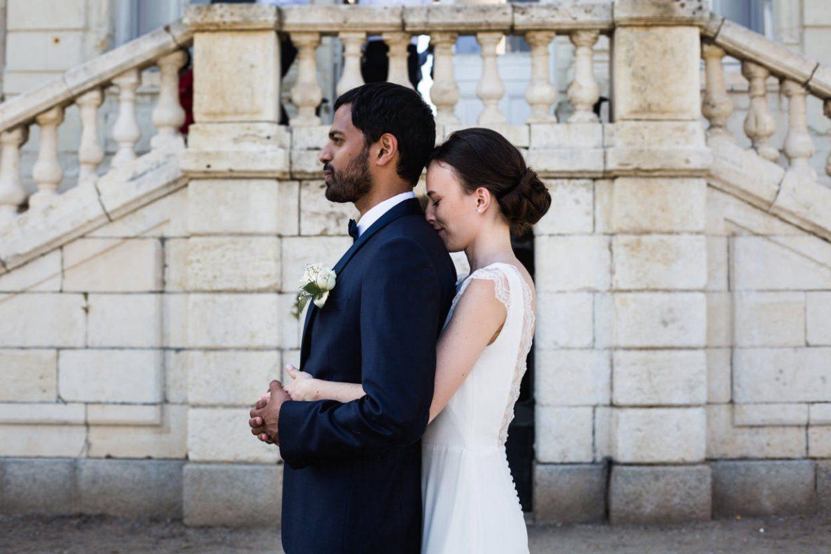 Photo de couple Chateau de Vair