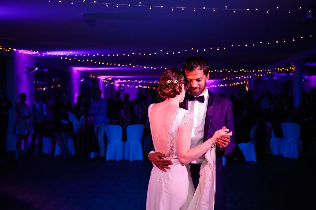 Ouverture du bal mariage Chateau de Vair
