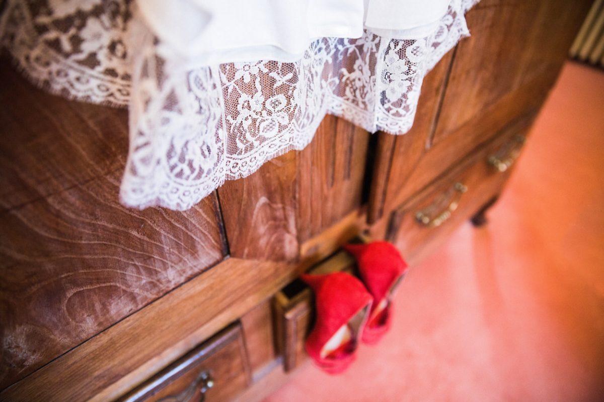 Préparatifs de la mariée Château de Guilguiffin