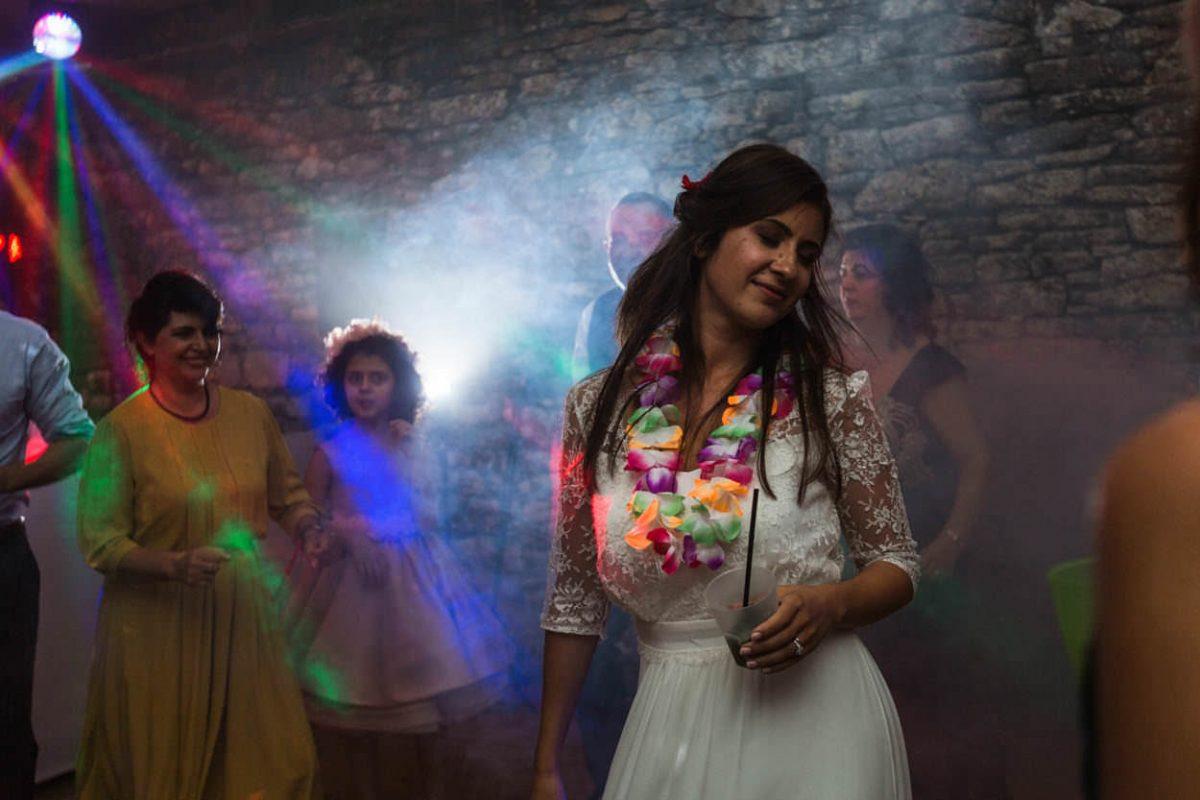 Soirée dansante mariée